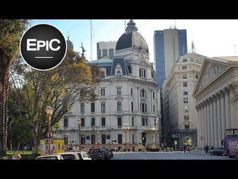 Ex Palacio de Gobierno & Diario La Prensa - Buenos Aires, Argentina (HD)