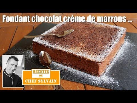 fondant-chocolat-et-crème-de-marrons---recette-gourmande-par-chef-sylvain-!