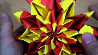 Origami Fireworks designed by Yami Yamauchi (Not a Tutorial) Thumbnail