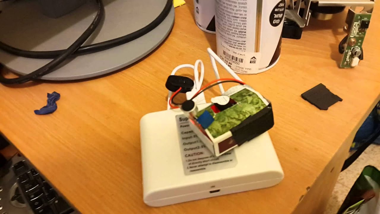 Arduino, Microphone, and Piezo-Speaker creates a funny gadget