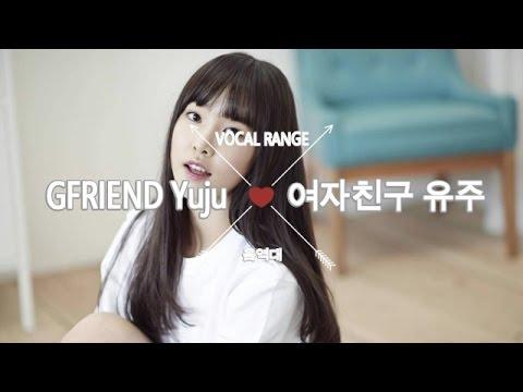 여자친구 유주의 음역대 GFRIEND Yuju's Vocal Range (F3~G#6)