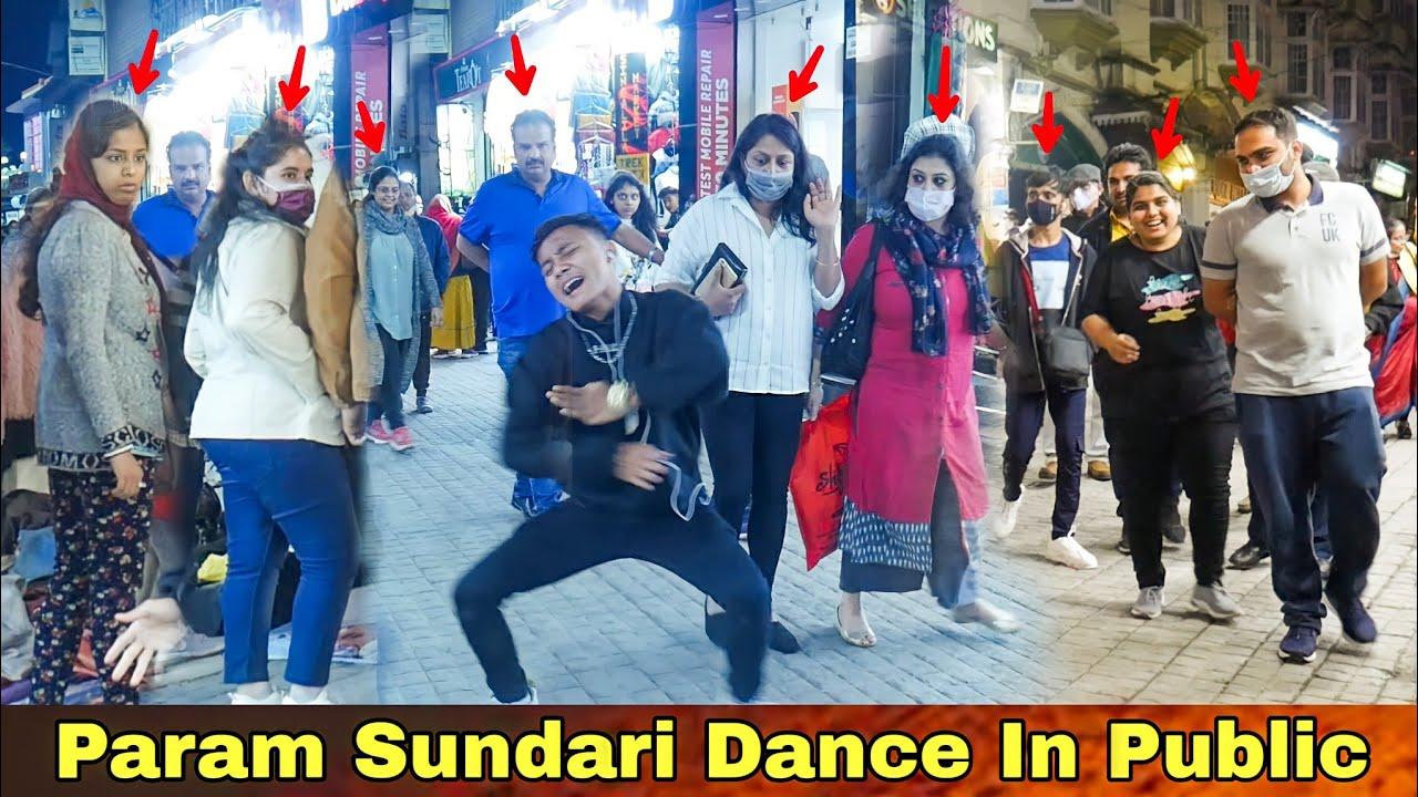 Param Sundari   Dance in Darjeeling Public 🔥   Epic Reaction 😂  Rock Lama  