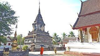 ลุยเวียดนาม(Vietnam)EP153:ธาตุมหาเทวีจิระประภา วัดมหาธาตุ ตลาดข้างทางหลวงพระบาง