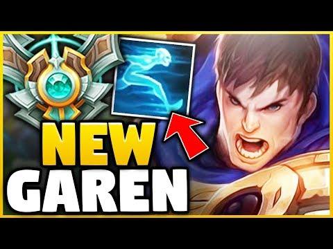 WTF? THESE GAREN NERFS MAKE GAREN A MID LANER NOW?! (SHOWING YOU IN DIAMOND) - League of Legends