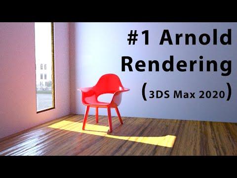3DS Max, Arnold Rendering, Indoor Scene #1