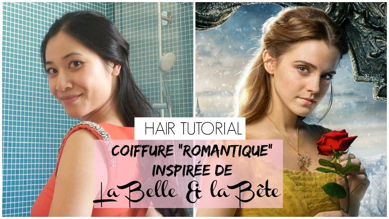 COIFFURE inspirée d\u0027Emma Watson LA BELLE ET LA BÊTE / romantique