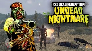 Red Dead Redemption - ZOMBIES EVERYWHERE! (RDR Undead Nightmare)