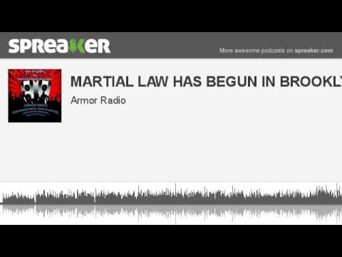 MARTIAL LAW HAS BEGUN IN BROOKLYN (made with Spreaker)