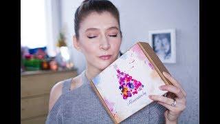 Новогодняя коробочка красоты // Азиатская коробочка красоты Декабрь // Allcosmetics.by