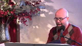 I'll Begin Again (from Scrooge) ~ Scott sings at Unity Center Norwalk CT - (1/6/13)