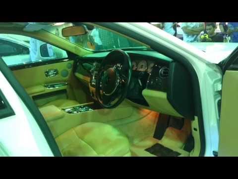 Rolls Royce Phantom in Bangalore auto show