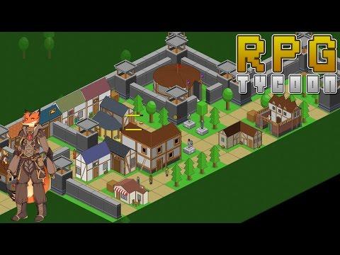 RPG Tycoon - On Gère Notre Royaume Et Les Besoins De Nos Héros Dans Ce Jeu De Gestion! || P&G [FR]