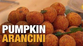How To Make Pumpkin Arancini | Rachael Ray Show