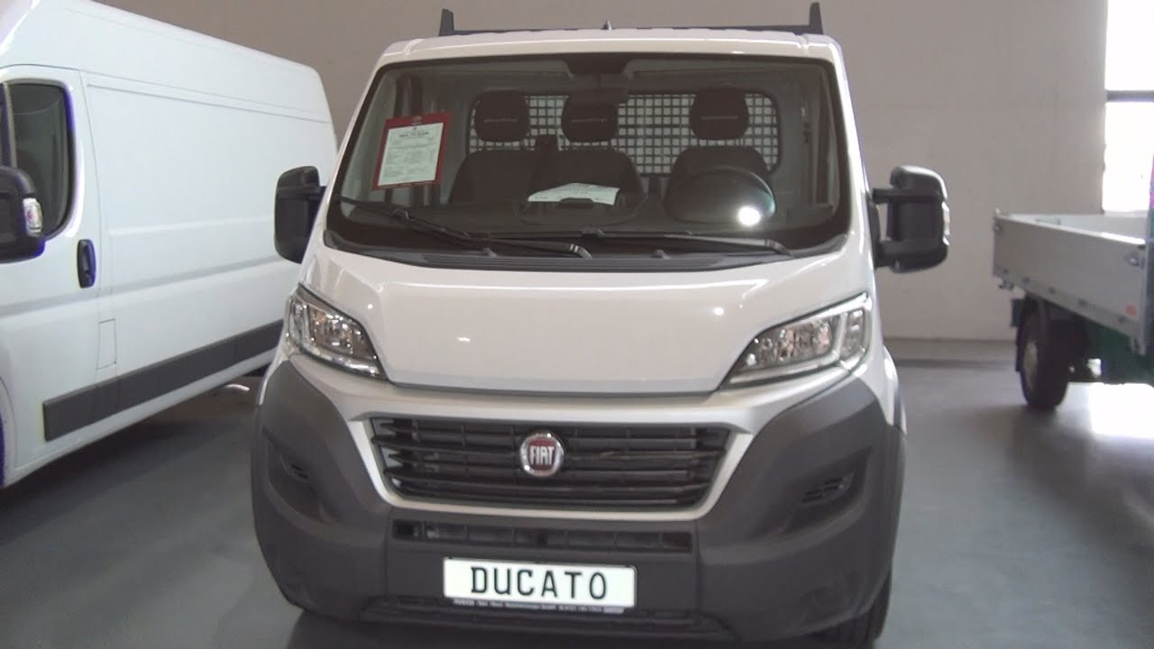 fiat ducato maxi 4 chassis 35 l5h1 single cabin 150 multijet 2016 exterior and interior in 3d. Black Bedroom Furniture Sets. Home Design Ideas