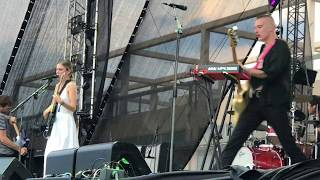 """Wolf Alice """"Space in Time"""" Live@Ejekt Festival 2018,Athens, Greece,23.06.18"""