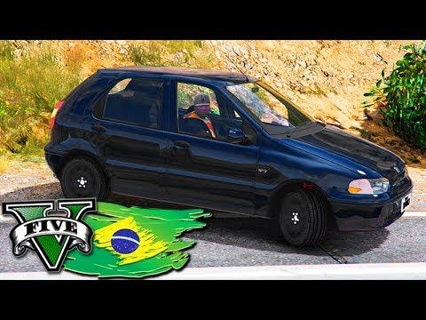 GTA V: BRASIL ROLEPLAY - COMPREI MEU PRIMEIRO CARRO!!! (FIAT PALIO) #02