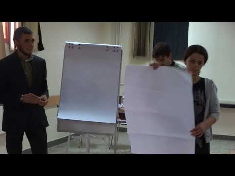 """Young Activist"" Project: Workshop in Gyumri, Shirak region, presentation of the WG 3 (1)"