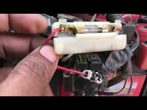 This will save your bike's wiring