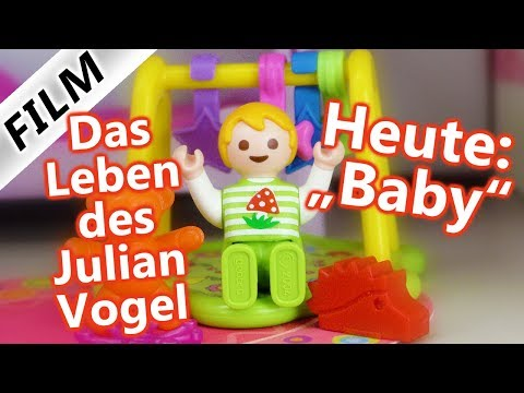 Playmobil Film Deutsch - DAS LEBEN DES JULIAN VOGEL! Heute : BABY - Kinderserie Familie Vogel