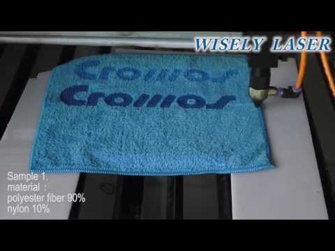 Laser Engraving Machine for textile fabric Wisely Laser