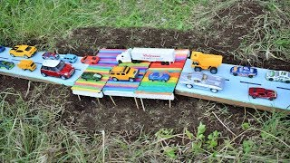 Como Construir Un Puente Para Automóviles de Juguete | Amy Toys