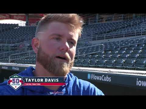 Iowa Cubs Leadoff Man April 20, 2018