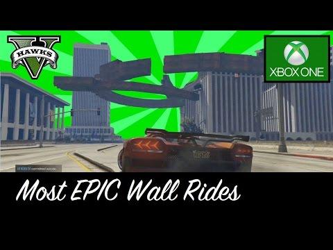 GTA 5 Xbox One Most EPIC Wallrides! - YouTube