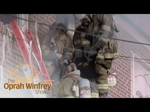 An Emotional Thank You Leaves These Firefighters in Tears | The Oprah Winfrey Show | OWN