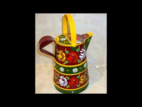 Hand Painted Canal Ware