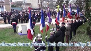 Cérémonie en hommage au colonel Arnaud Beltrame à Avallon (89)