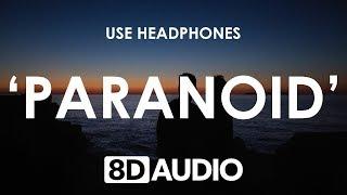 Steve Void & Midsplit - Paranoid (8D AUDIO) 🎧 ft. Anna Yvette