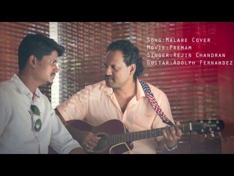 Malare Premam | Guitar Version | Cover HD | By Rejin Chandran & Adolph Fernandez | Musicbook