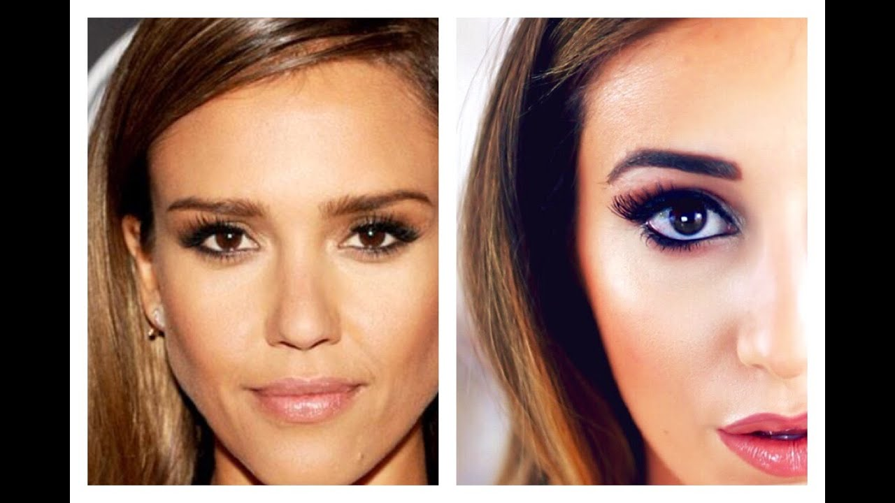jessica alba inspired makeup tutorial youtube