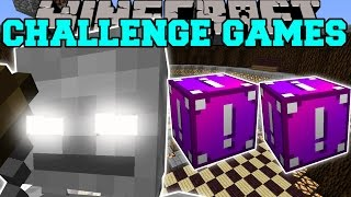 Minecraft: SKELETON TITAN CHALLENGE GAMES - Lucky Block Mod - Modded Mini-Game