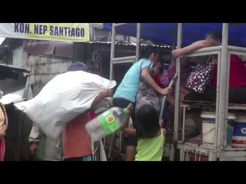 Philippine Authorities Evacuate Thousands As Typhoon Vamco Approaches