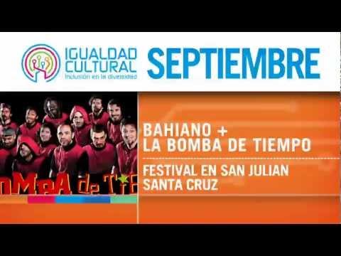 #CalendarioCultural Septiembre en #IgualdadCultural