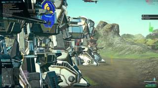 Raw NS-7B PDW Heavy Assault Planetside 2 Gameplay