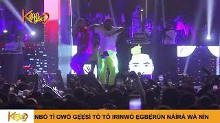 Davido Brings Out Zlatan, Lil Kesh , Perform Able God {Nigerian Entertainment}