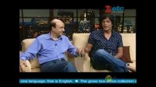 Jyotin Goel & Chunky Pandey With Komal Nahta