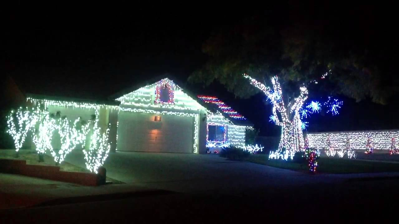 christmas lights synced with music - Christmas Lights Synchronized To Music