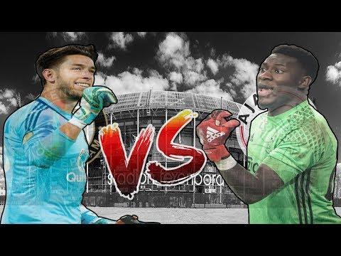 Brad Jones VS André Onana | Feyenoord - Ajax | De Klassieker | KEEPERSBATTLE🔥