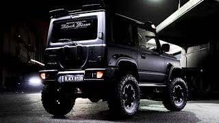 AWESOME!!! NEW SUZUKI JIMNY BLACK BISON EDITION