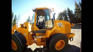 Loading 10-Wheel Dump Truck With A Front-End Loader
