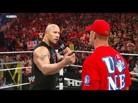 SmackDown: John Cena Calls Out The Rock on Raw