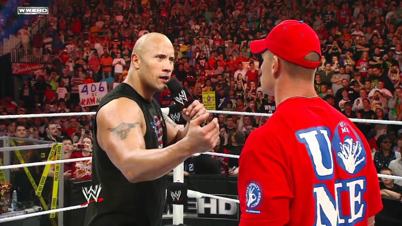 Is John Cena the second coming of The Rock?