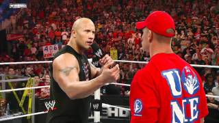 Скачать SmackDown John Cena Calls Out The Rock On Raw