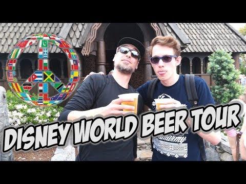 Drinking Beer Around The World - World Disney EPCOT Park
