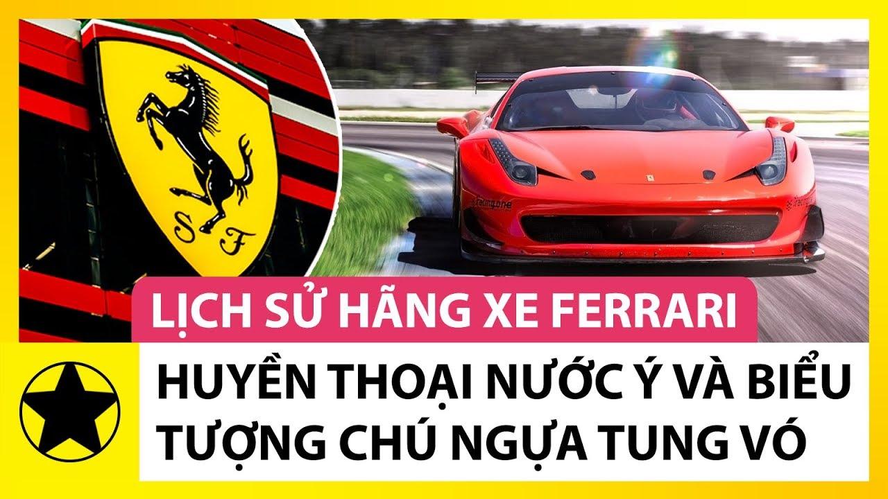 Lịch sử Ferrari – 'Huyền Thoại Nước Ý' Và Sự Thật Đằng Sau Biểu Tượng 'Chú Ngựa Tung Vó'