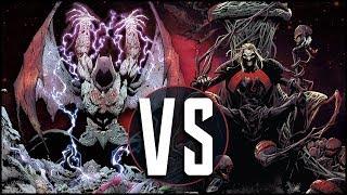 Barbatos VS Knull: Bat God Battles Symbiote God
