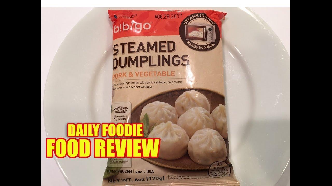 Steaming Dumplings Without A Steamer ~ Bibigo steamed dumplings review pork vegetable frozen
